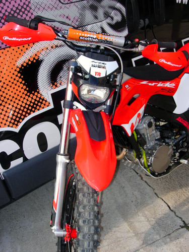 Montesa 4Ride Scottish Special Racing (detalle frontal)